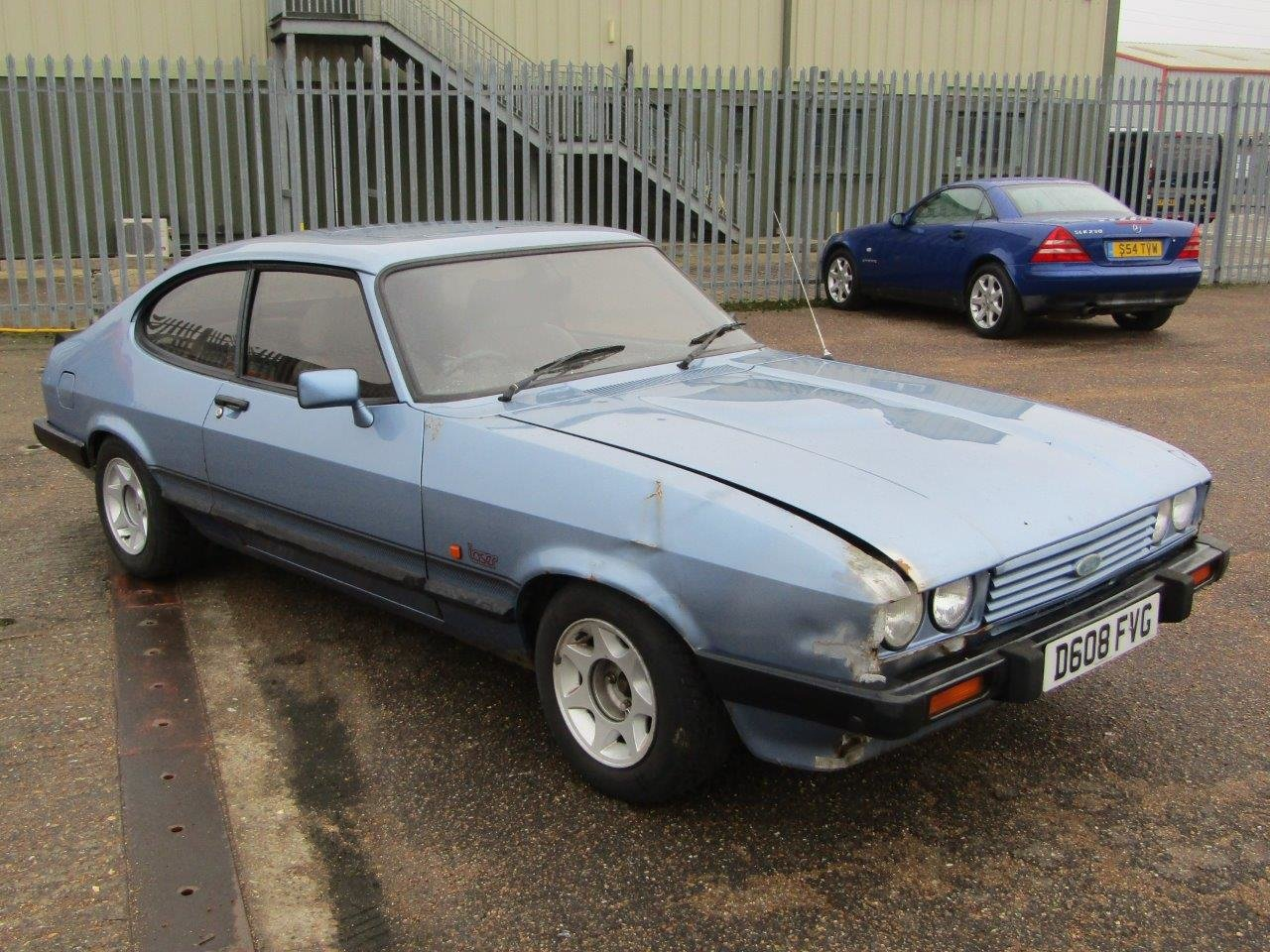 1986 Ford Capri 1.6 Laser at ACA 27th and 28th February For Sale by Auction (picture 1 of 11)