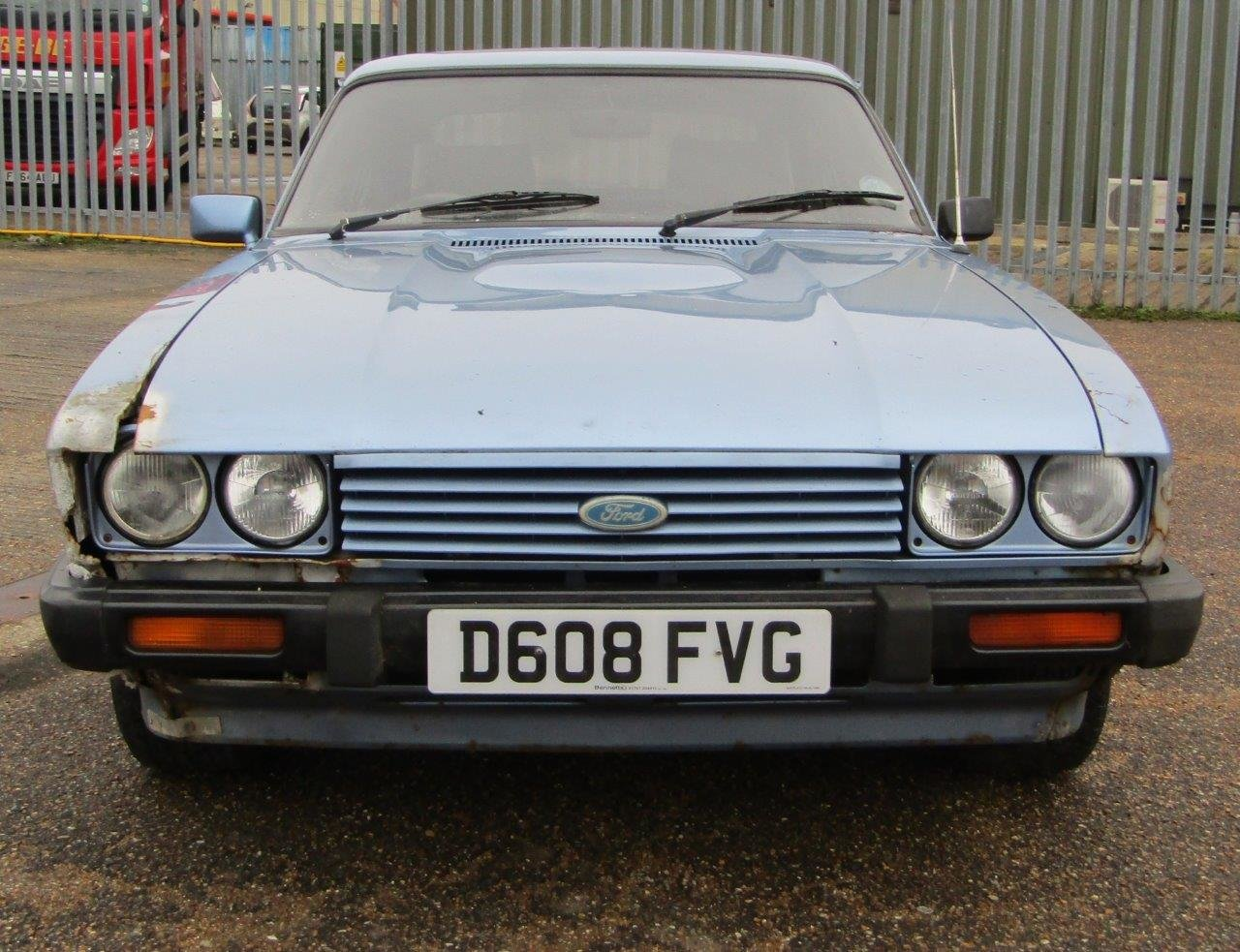 1986 Ford Capri 1.6 Laser at ACA 27th and 28th February For Sale by Auction (picture 2 of 11)