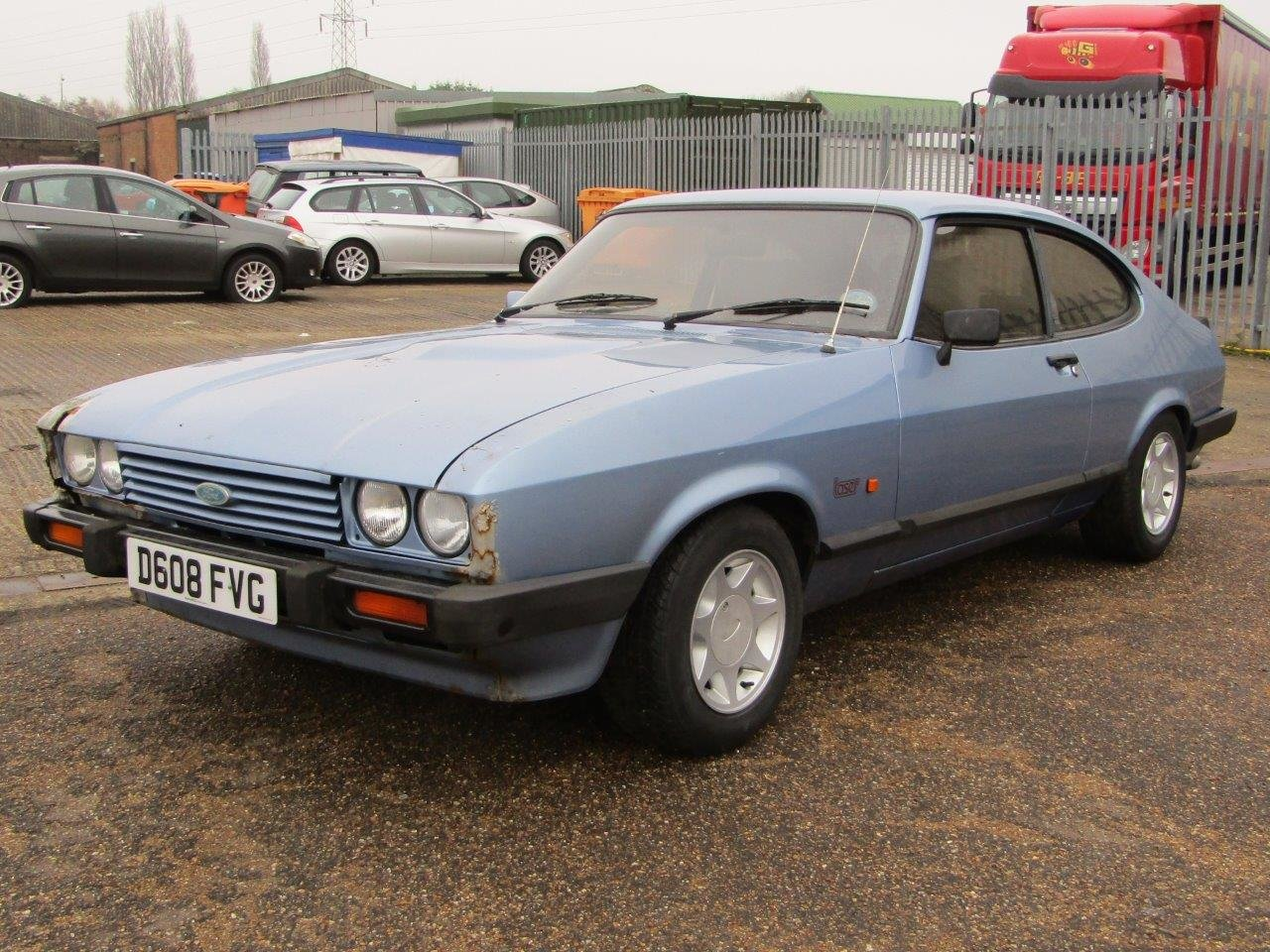 1986 Ford Capri 1.6 Laser at ACA 27th and 28th February For Sale by Auction (picture 3 of 11)