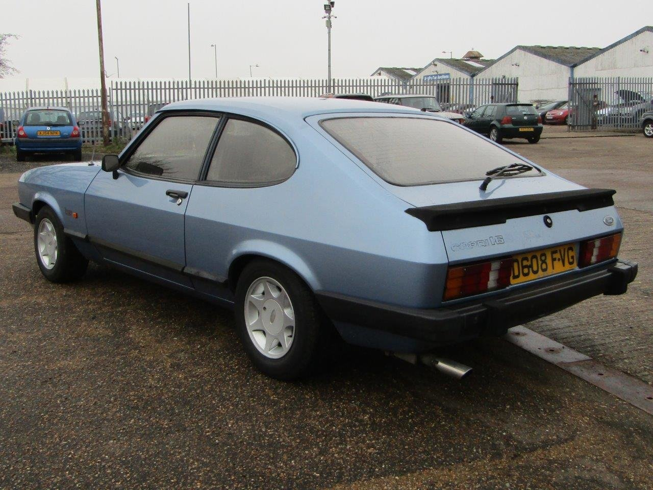 1986 Ford Capri 1.6 Laser at ACA 27th and 28th February For Sale by Auction (picture 4 of 11)