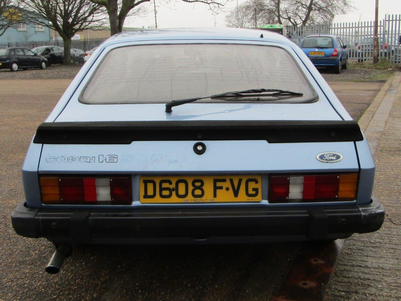 1986 Ford Capri 1.6 Laser at ACA 27th and 28th February For Sale by Auction (picture 5 of 11)