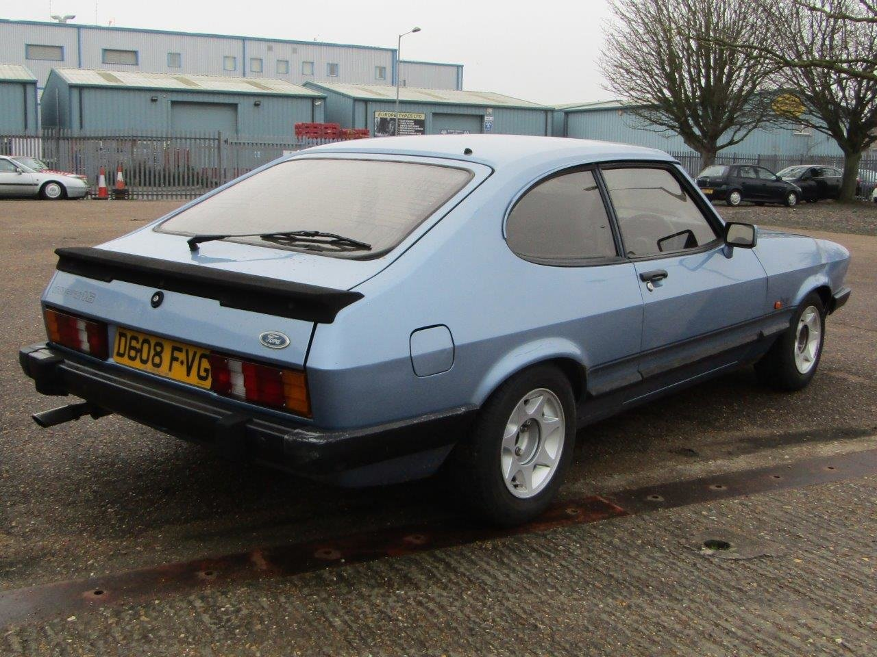 1986 Ford Capri 1.6 Laser at ACA 27th and 28th February For Sale by Auction (picture 6 of 11)