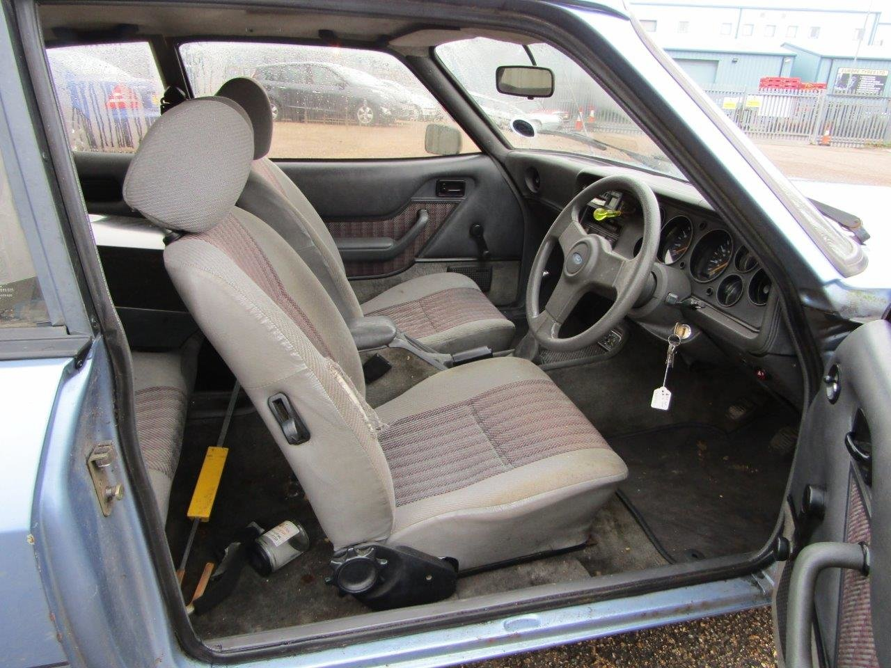 1986 Ford Capri 1.6 Laser at ACA 27th and 28th February For Sale by Auction (picture 7 of 11)