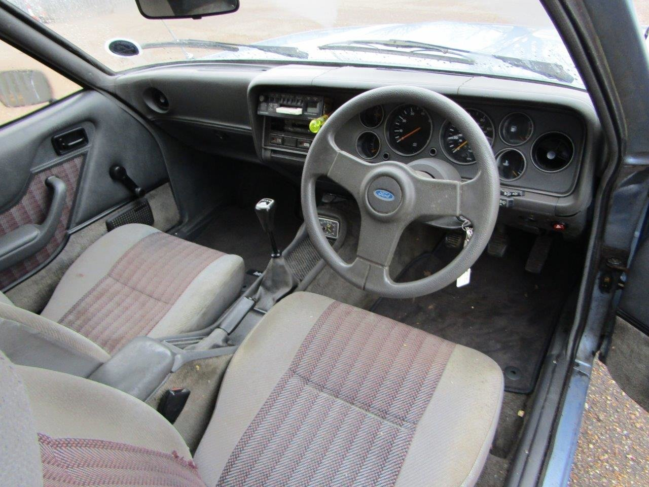 1986 Ford Capri 1.6 Laser at ACA 27th and 28th February For Sale by Auction (picture 8 of 11)