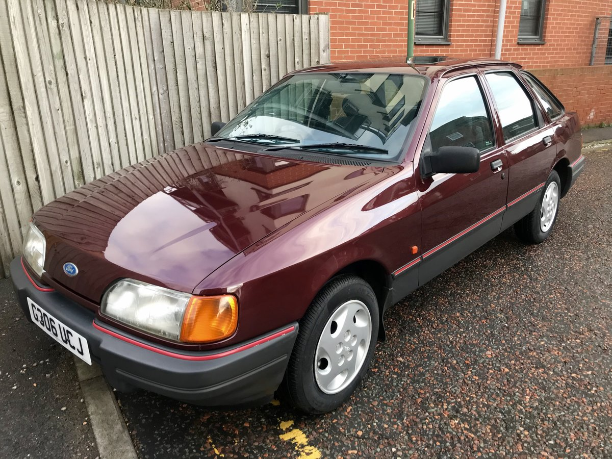 1990 Ford Sierra 2.0 LX For Sale (picture 2 of 12)