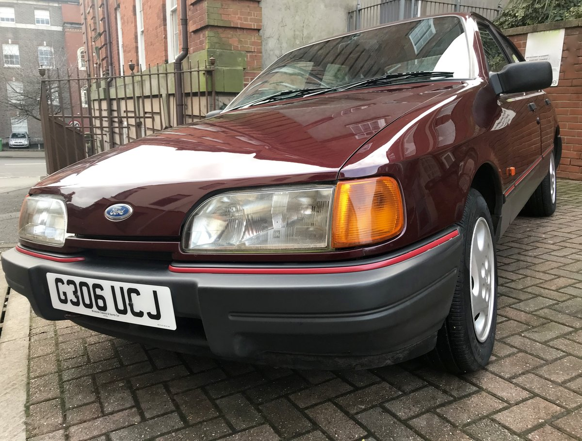 1990 Ford Sierra 2.0 LX For Sale (picture 4 of 12)