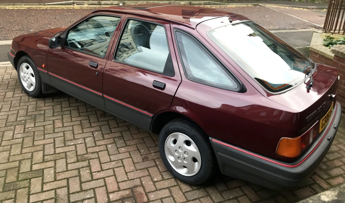 1990 Ford Sierra 2.0 LX For Sale (picture 7 of 12)