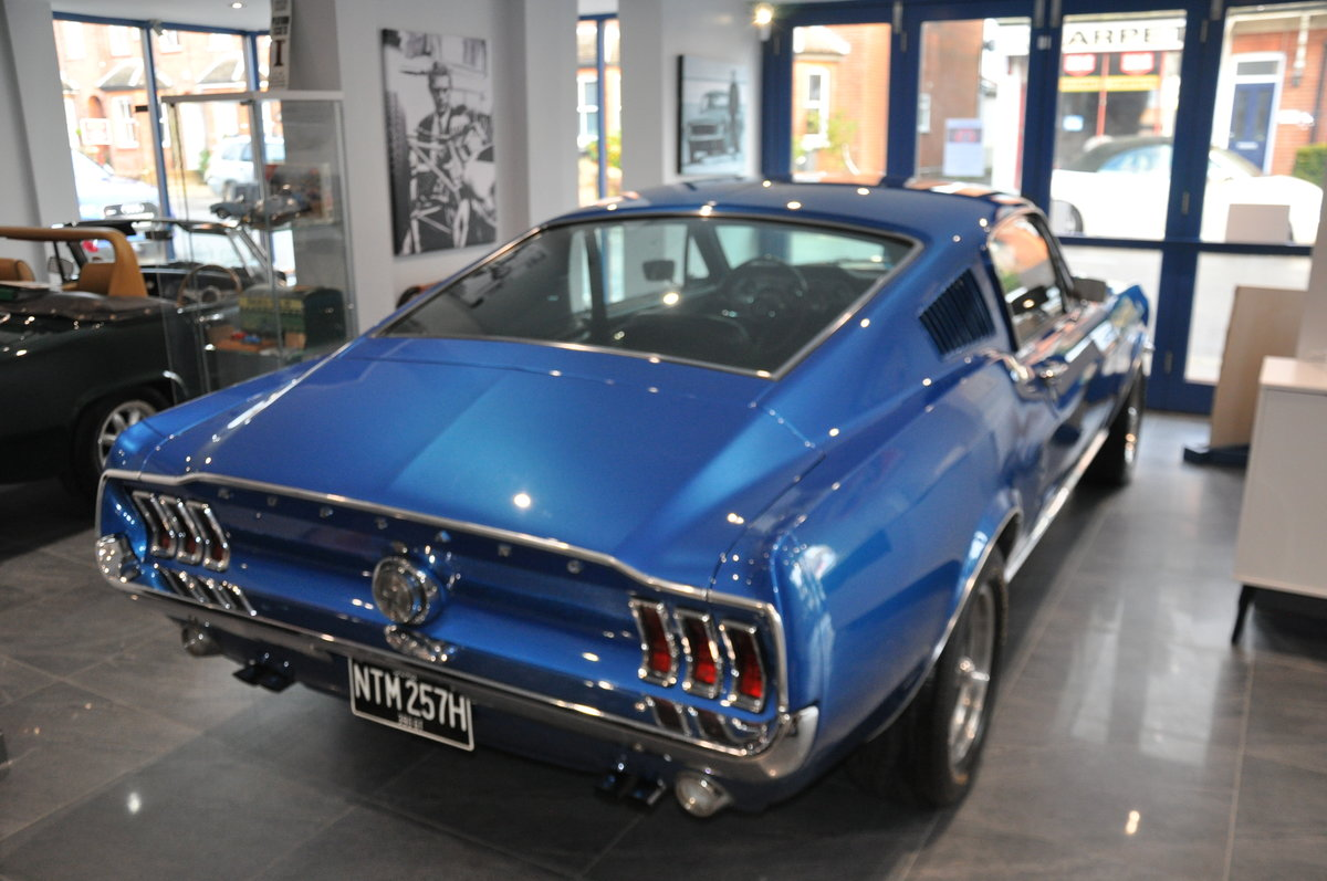 1967 Ford Mustang 390GT Fastback (Bullitt spec) For Sale (picture 1 of 5)