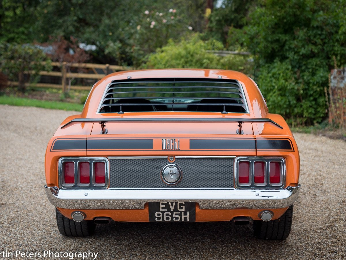1970 Ford Mustang Mach 1 For Sale (picture 3 of 28)