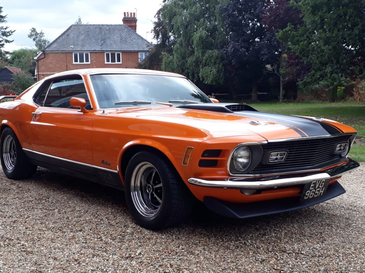 1970 Ford Mustang Mach 1 For Sale (picture 8 of 28)