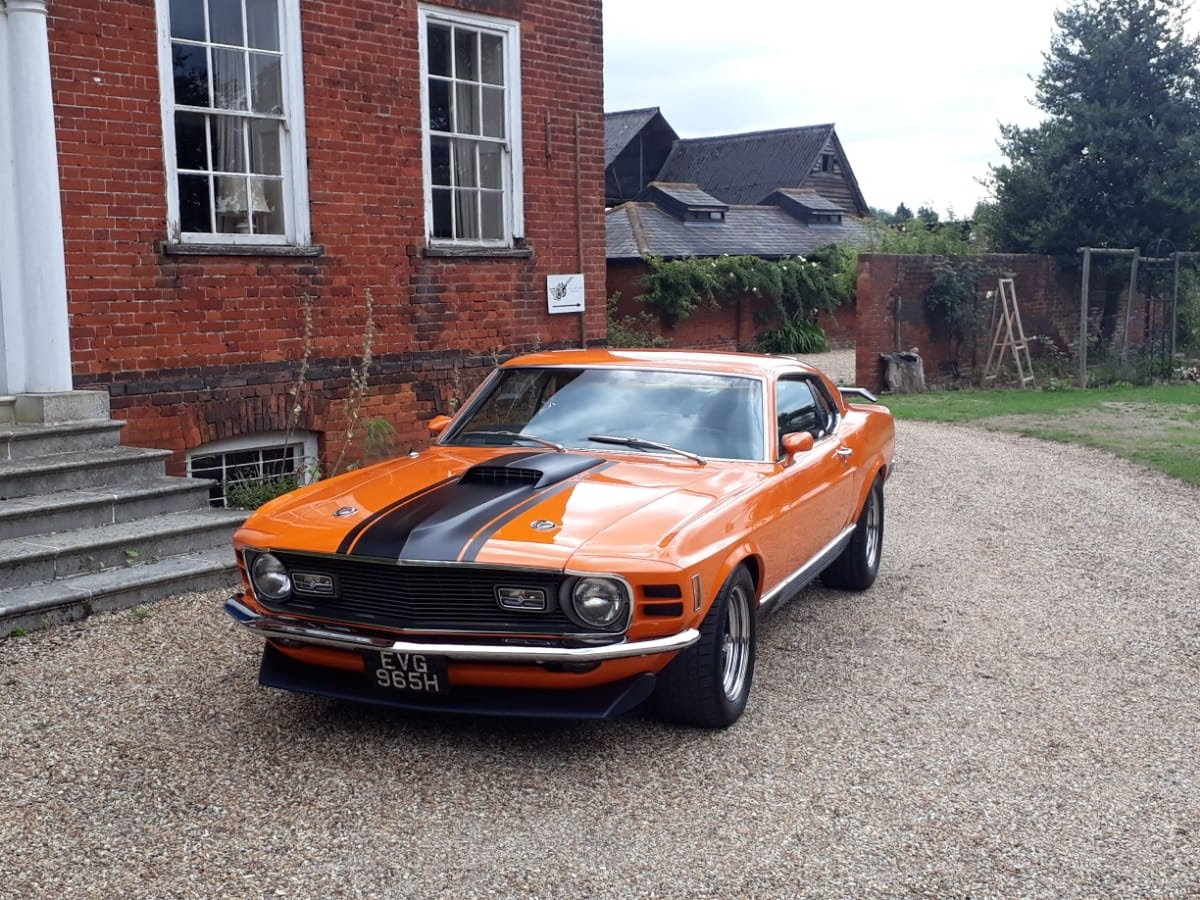1970 Ford Mustang Mach 1 For Sale (picture 9 of 28)
