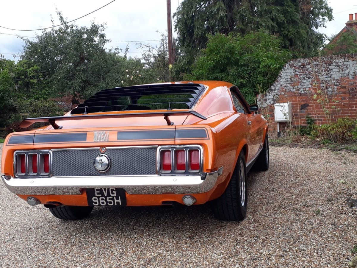 1970 Ford Mustang Mach 1 For Sale (picture 12 of 28)