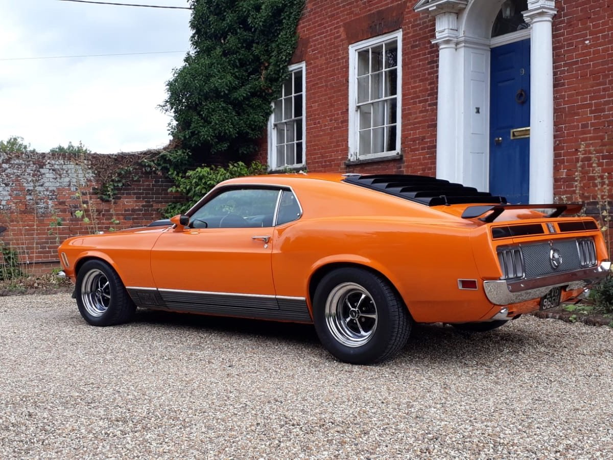 1970 Ford Mustang Mach 1 For Sale (picture 13 of 28)