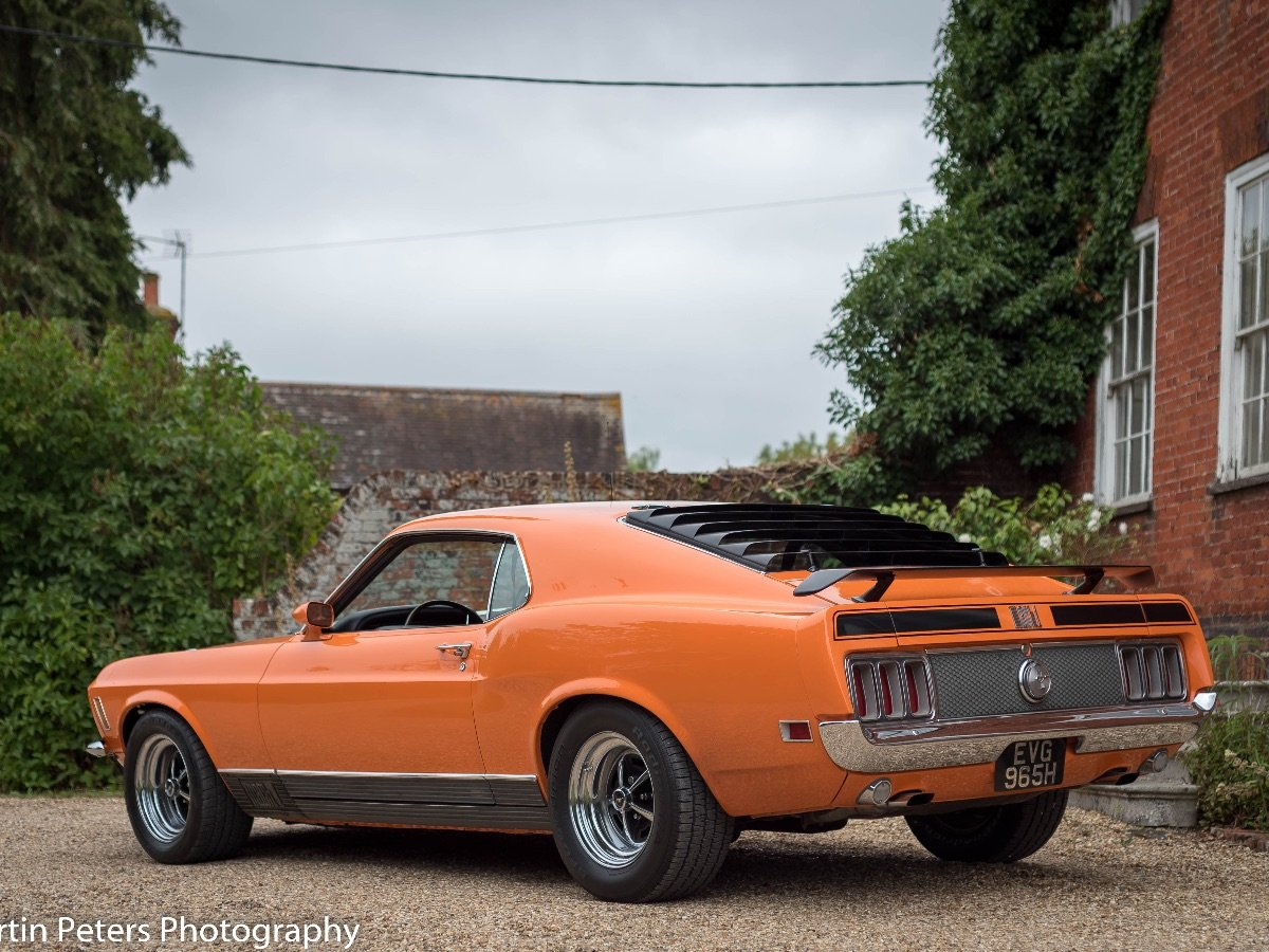 1970 Ford Mustang Mach 1 For Sale (picture 27 of 28)
