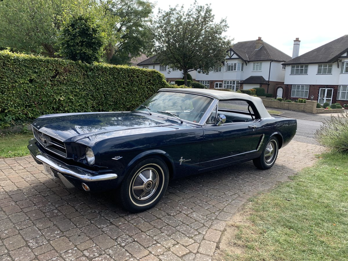 1965 Ford Mustang Convertible For Sale (picture 9 of 12)