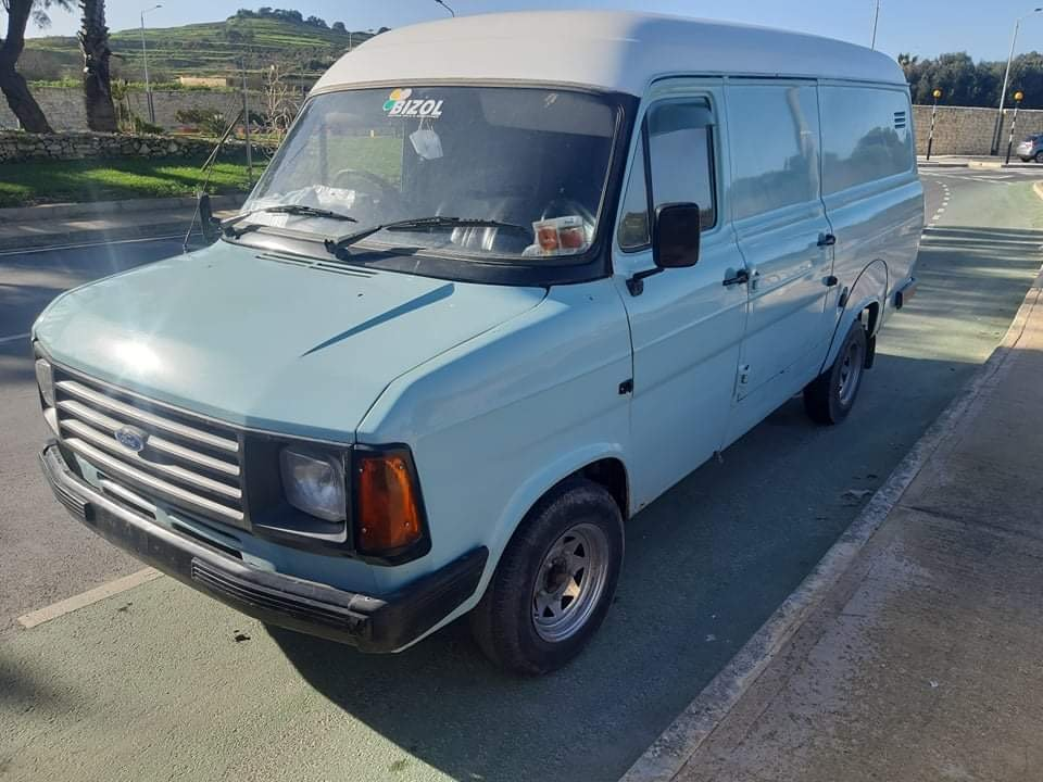 1985 FORD TRANSIT RARE 100L 2.4 DIESEL LWB LONG WHEEL BASE PANEL For Sale (picture 2 of 6)