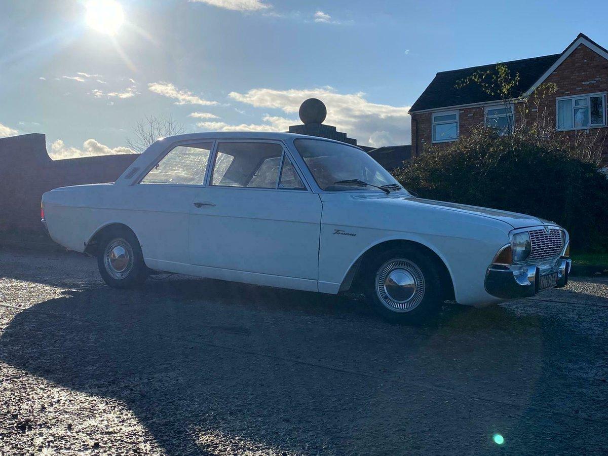 1964 Ford Taunus P5 Super 17 2 Door UK Reg V5c 1700cc V4 For Sale (picture 3 of 9)