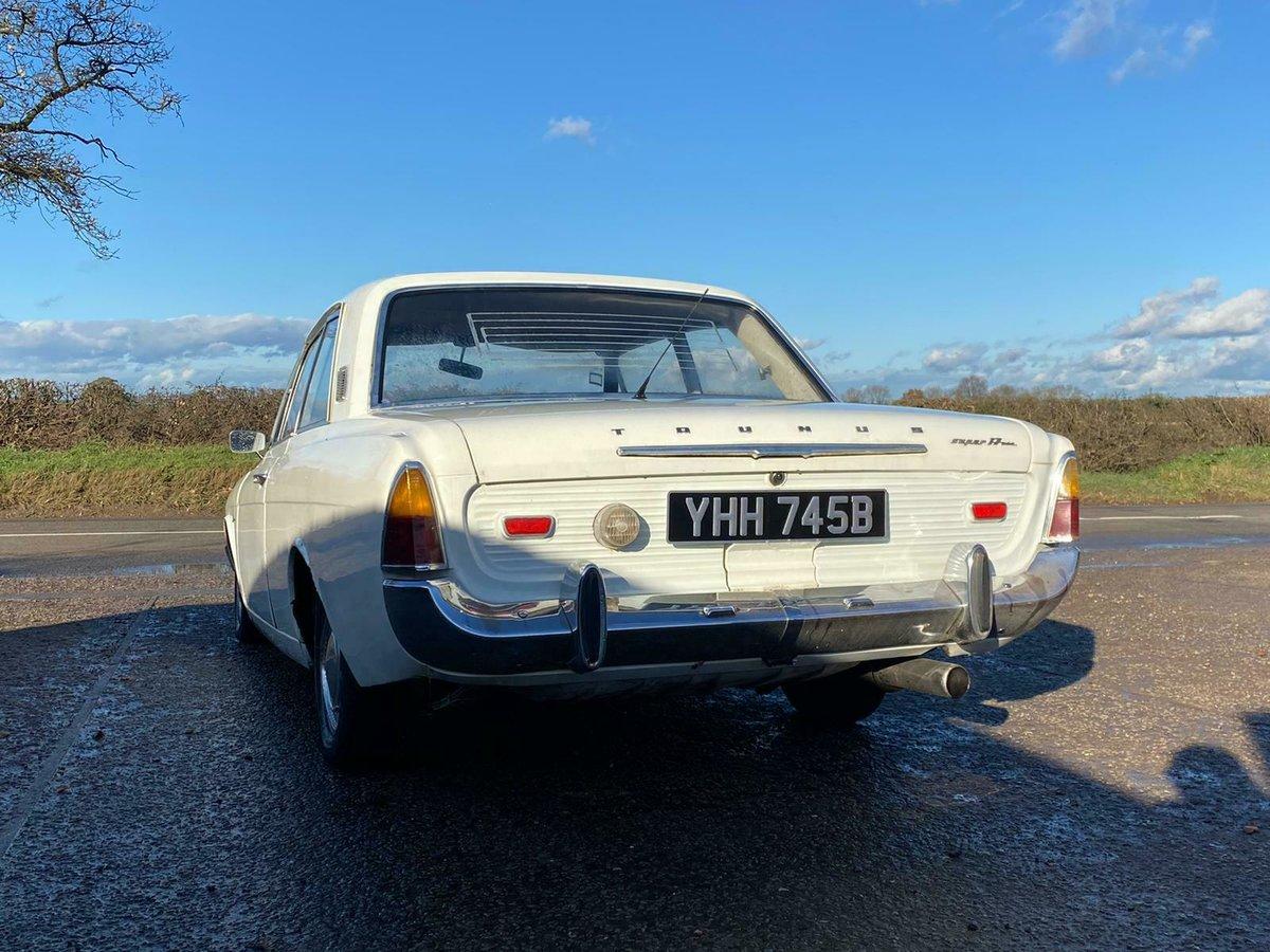 1964 Ford Taunus P5 Super 17 2 Door UK Reg V5c 1700cc V4 For Sale (picture 5 of 9)