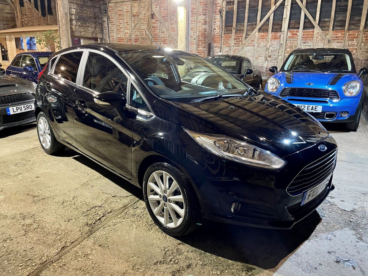 2017 Ford Fiesta 1.6 Titanium Powershift **Reserved** SOLD (picture 1 of 1)