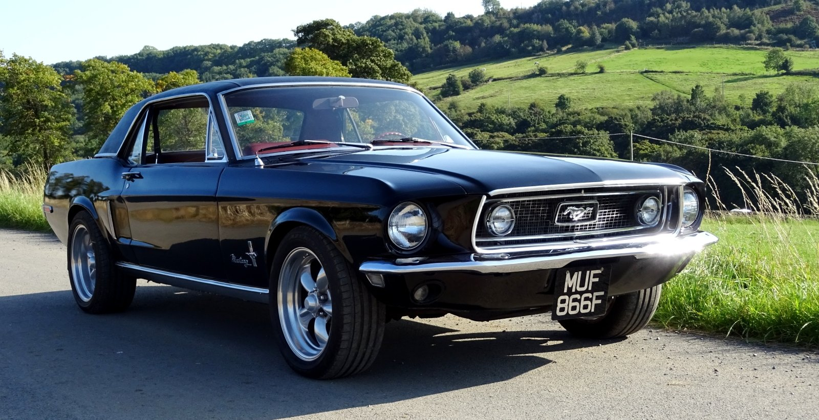 1968 AWESOME FORD MUSTANG AMERICAN V8 CLASSIC MUSCLE CAR For Sale (picture 2 of 12)