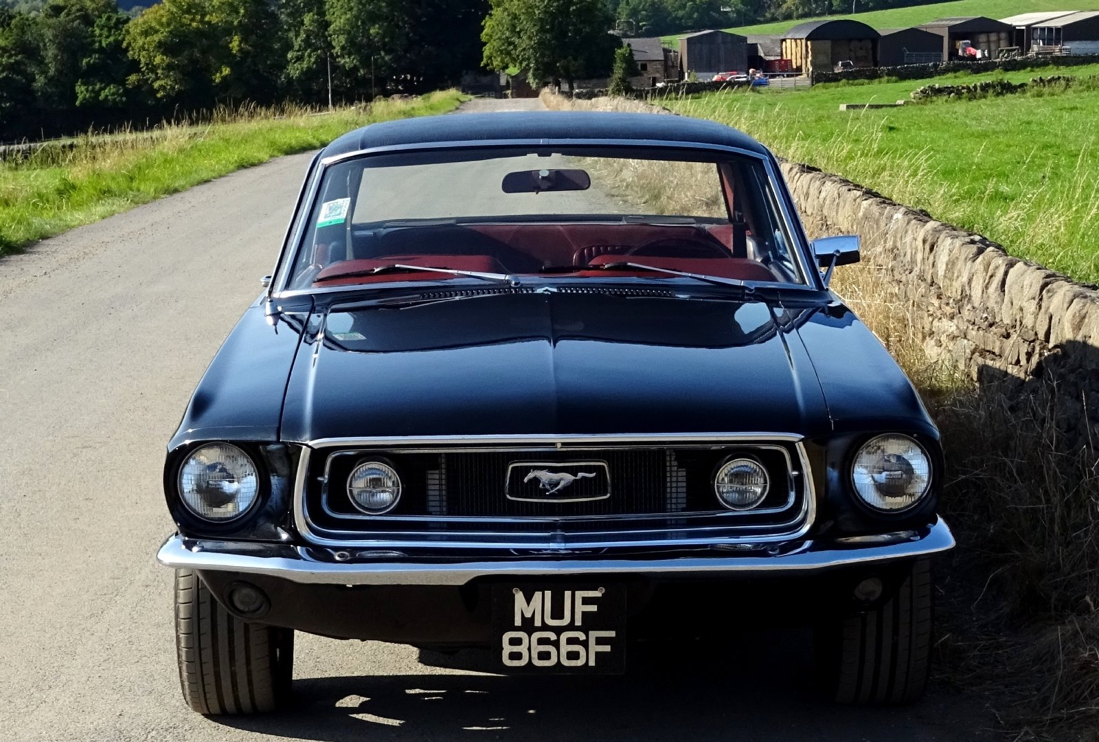 1968 AWESOME FORD MUSTANG AMERICAN V8 CLASSIC MUSCLE CAR For Sale (picture 3 of 12)