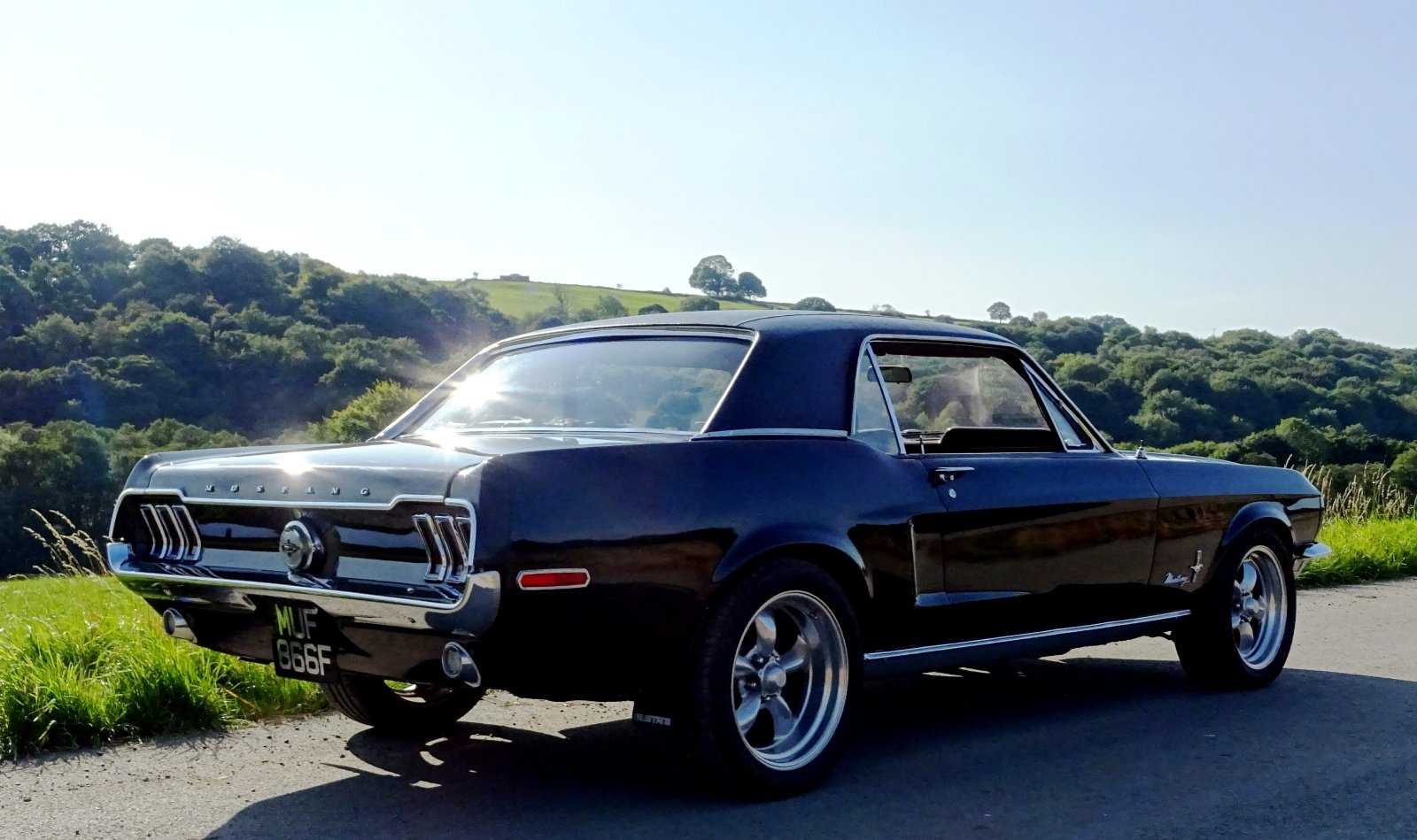 1968 AWESOME FORD MUSTANG AMERICAN V8 CLASSIC MUSCLE CAR For Sale (picture 4 of 12)