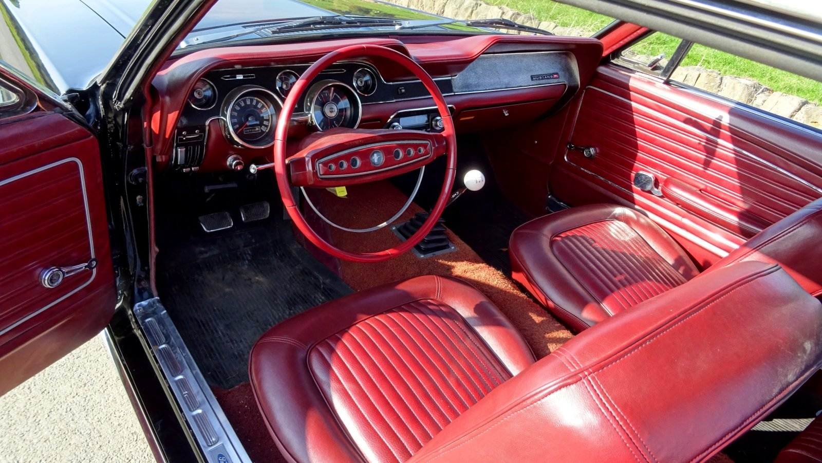 1968 AWESOME FORD MUSTANG AMERICAN V8 CLASSIC MUSCLE CAR For Sale (picture 10 of 12)