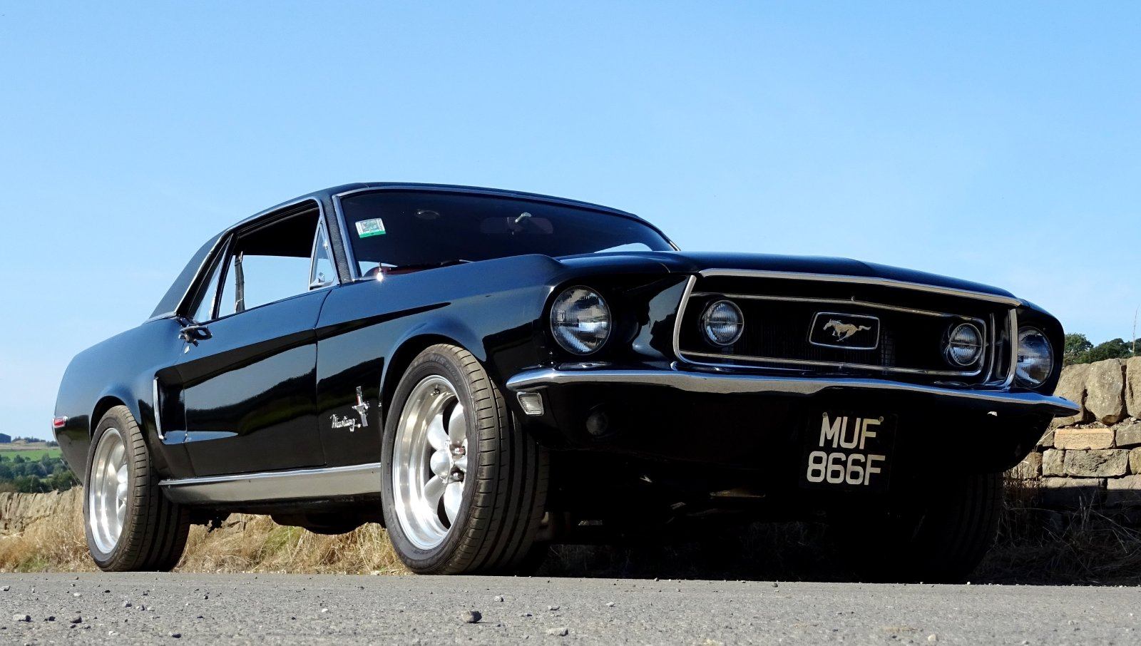 1968 AWESOME FORD MUSTANG AMERICAN V8 CLASSIC MUSCLE CAR For Sale (picture 12 of 12)