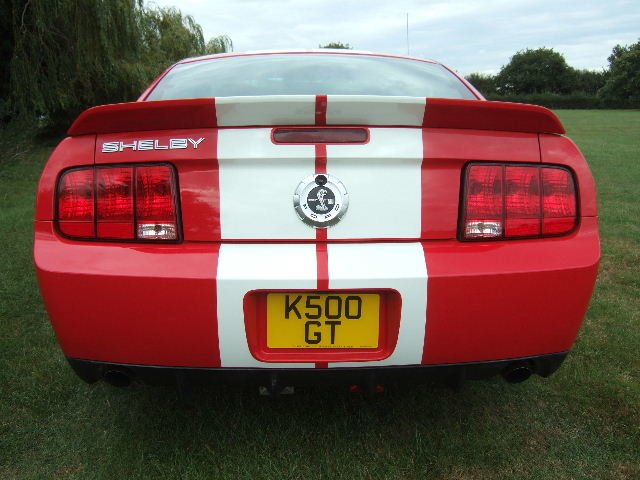 2007 Ford Mustang Shelby GT500 fastback only 9500 miles For Sale (picture 11 of 12)
