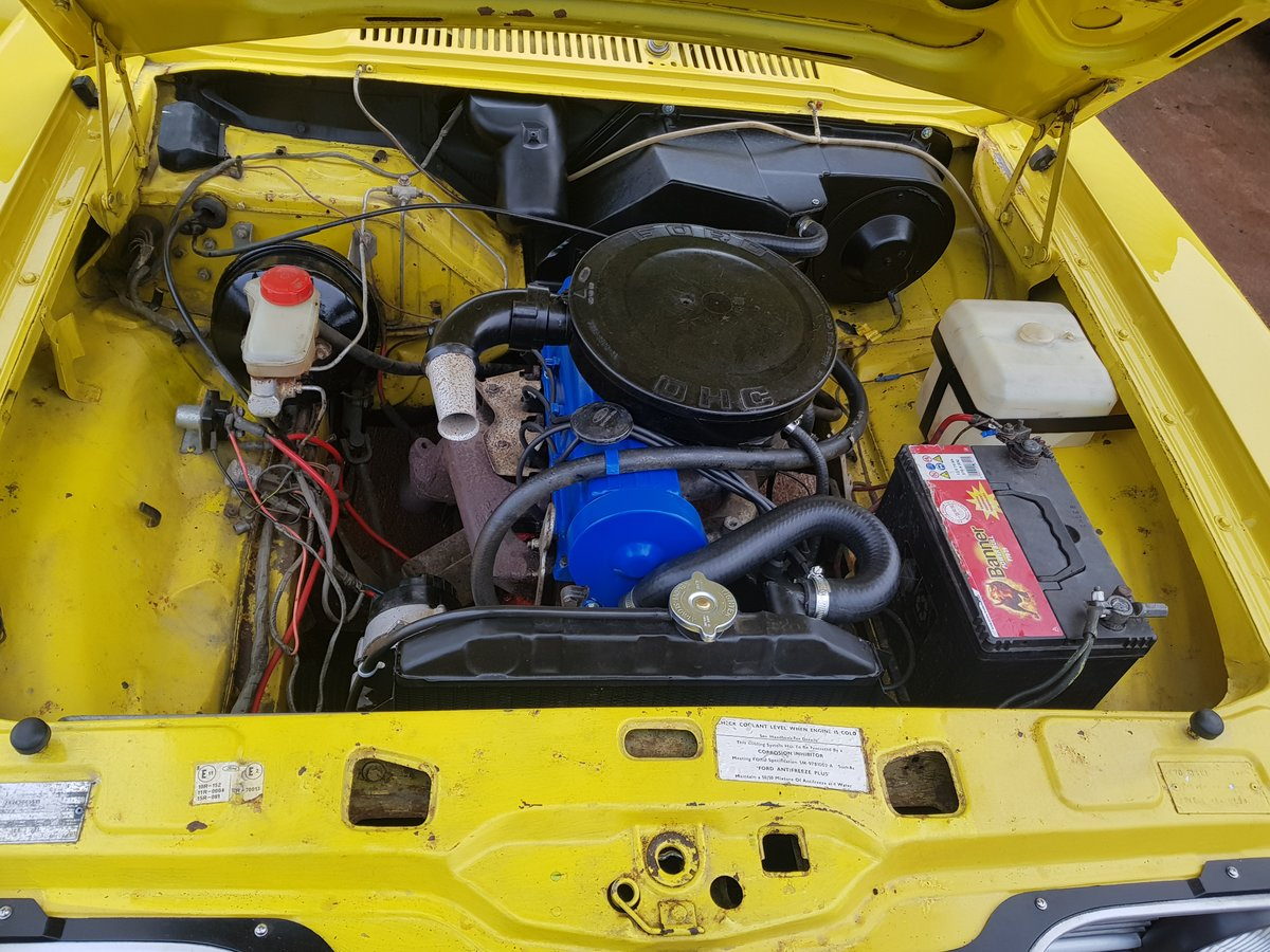 1974 Ford Cortina MK3 1.6L Auto -18k Miles For Sale (picture 5 of 11)