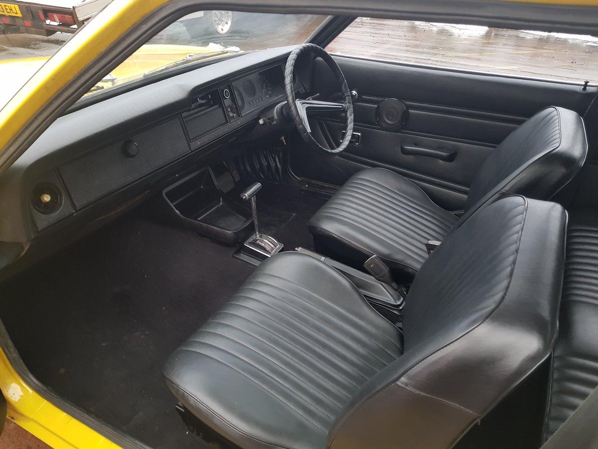 1974 Ford Cortina MK3 1.6L Auto -18k Miles For Sale (picture 6 of 11)