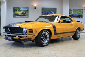 1970 Ford Mustang Boss 302 V8 Fastback Manual - Concours
