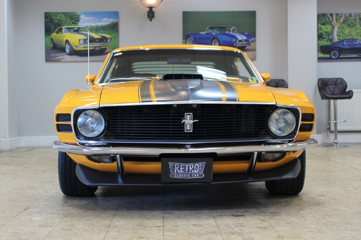 1970 Ford Mustang Boss 302 V8 Fastback Manual - Concours For Sale (picture 3 of 25)