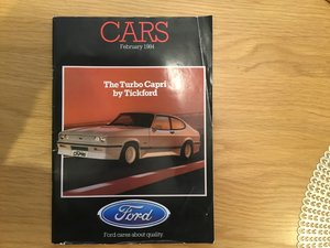 Picture of 1984 Ford model range brochure For Sale