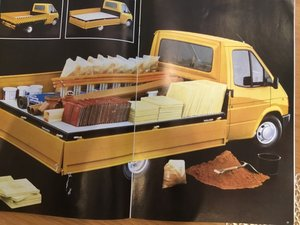 Picture of 1986 Ford Transit range brochure For Sale
