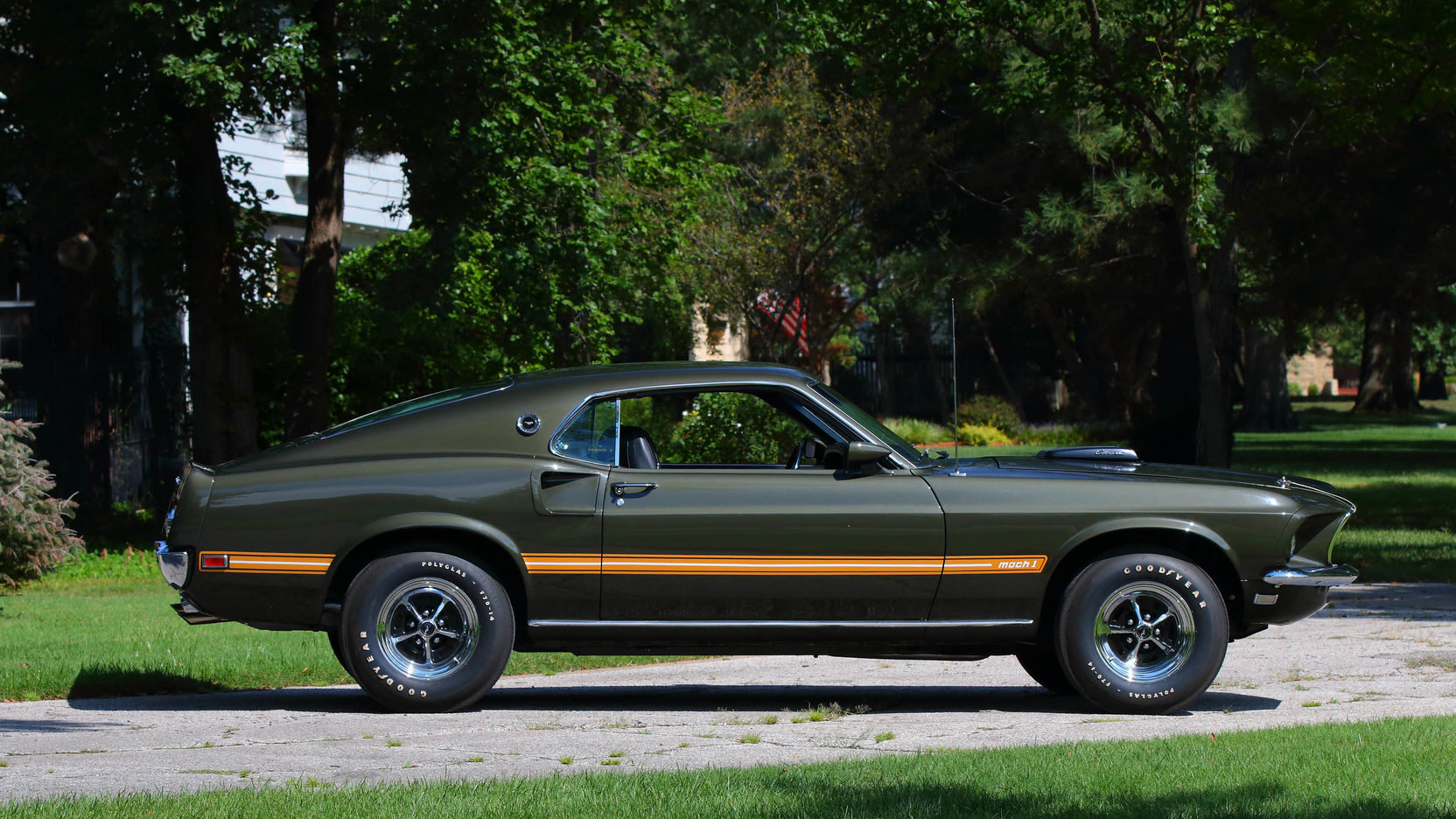 1969 Mustang Mach 1 428 Cobra Jet Project For Sale (picture 8 of 12)