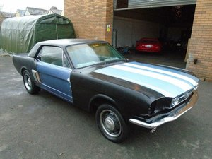 Picture of 1966 FORD MUSTANG 289 V8 COUPE MET BLUE! PERFECT SOLID BUILD SOLD