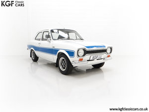 A First Month Production Mk1 Ford Escort RS2000