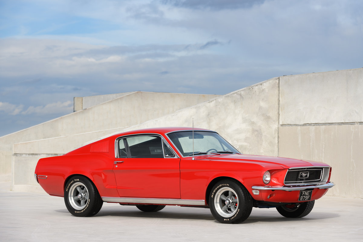 1968 Ford Mustang Fastback 289 V8 Auto Fully Restored UK Reg For Sale (picture 1 of 17)