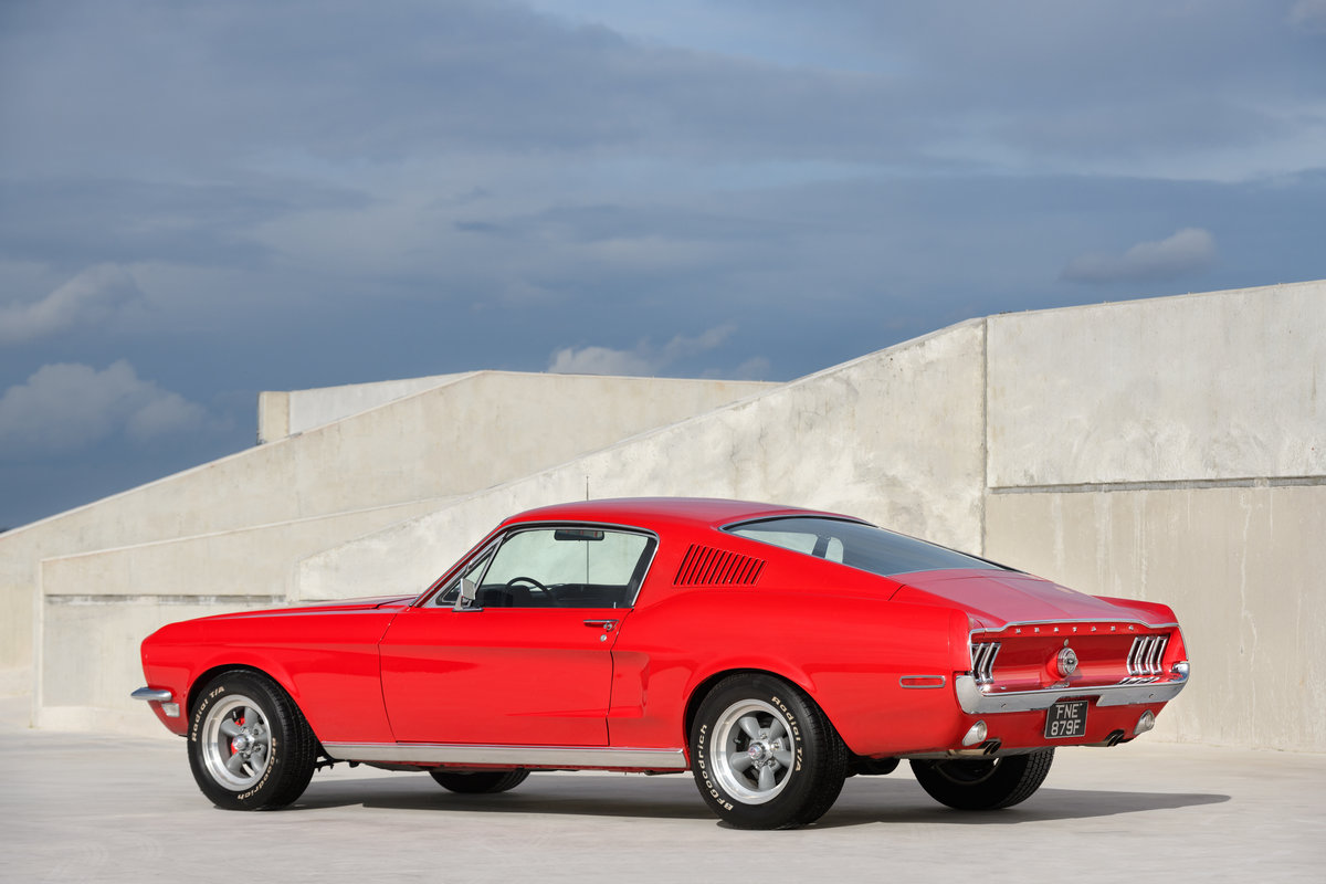 1968 Ford Mustang Fastback 289 V8 Auto Fully Restored UK Reg For Sale (picture 3 of 17)