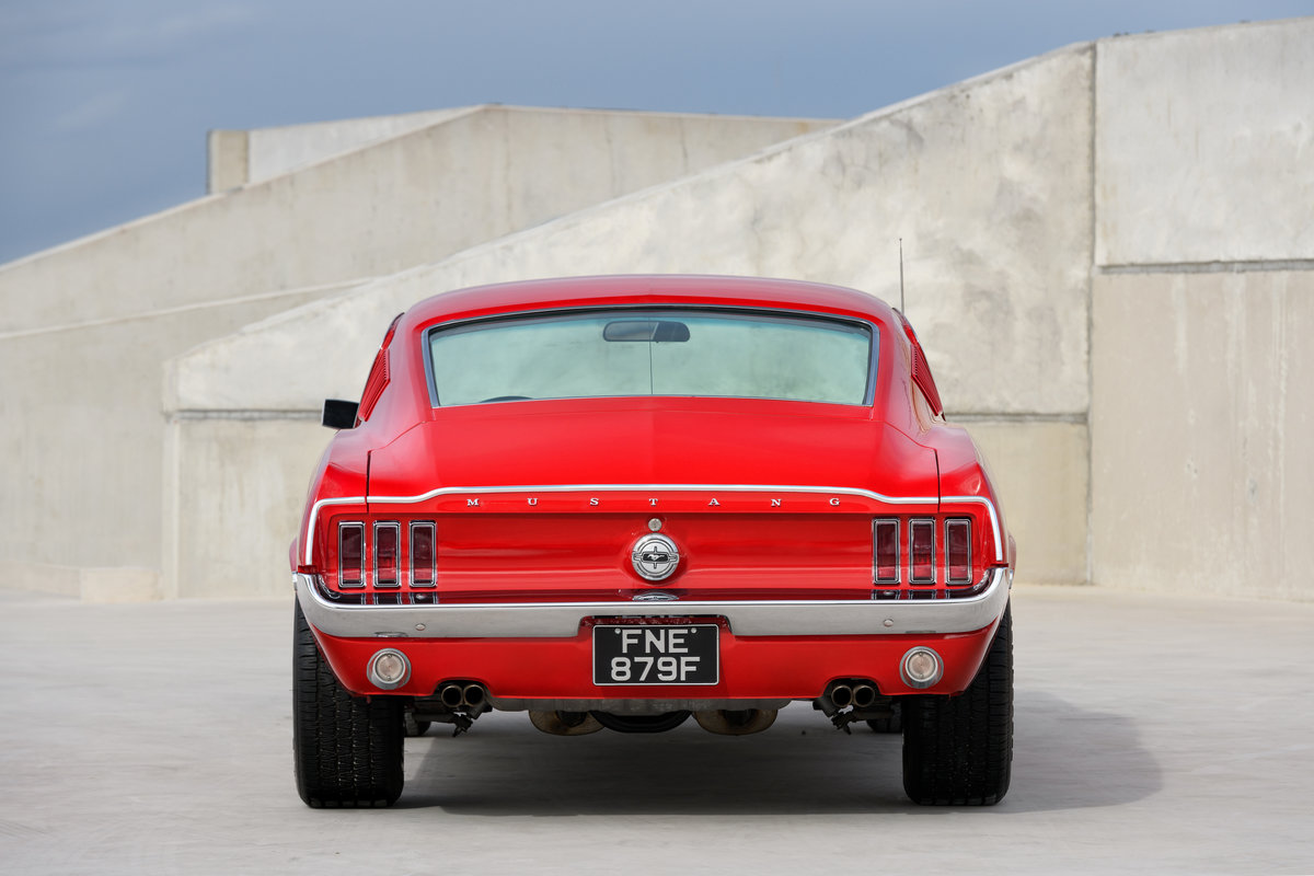 1968 Ford Mustang Fastback 289 V8 Auto Fully Restored UK Reg For Sale (picture 5 of 17)