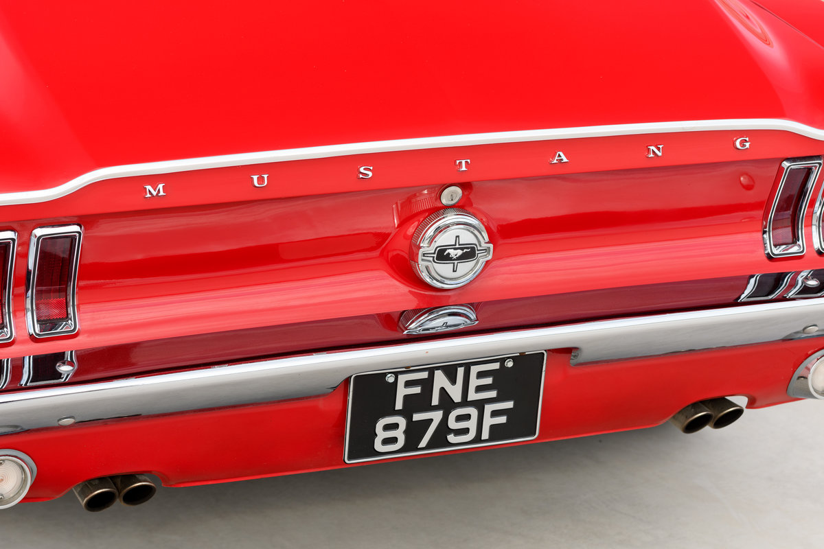 1968 Ford Mustang Fastback 289 V8 Auto Fully Restored UK Reg For Sale (picture 6 of 17)