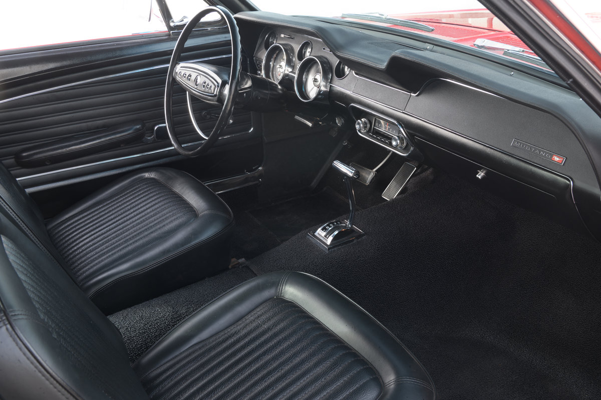1968 Ford Mustang Fastback 289 V8 Auto Fully Restored UK Reg For Sale (picture 12 of 17)
