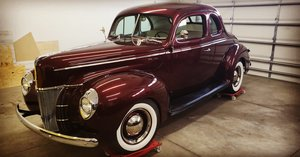 Picture of 1940 Ford Deluxe Coupe Street Rod Built Flathead V8 For Sale