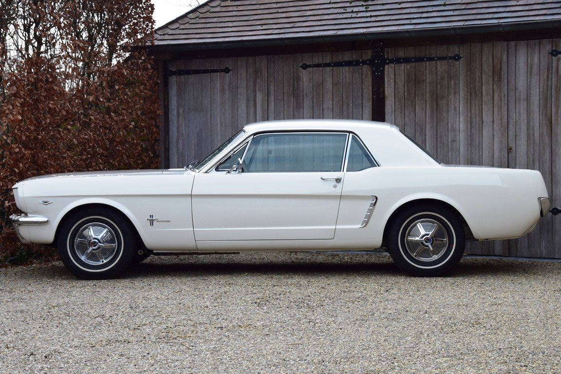 Early Mustang 1964 1/2 in concours condition. For Sale (picture 2 of 12)