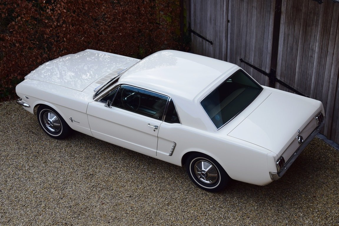 Early Mustang 1964 1/2 in concours condition. For Sale (picture 6 of 12)