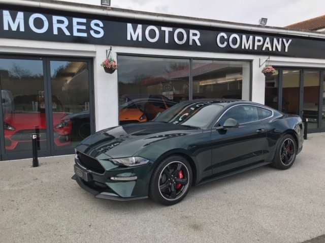 Ford Mustang Bullitt Edition 2019 1 of 300, 6,129 miles SOLD (picture 1 of 12)