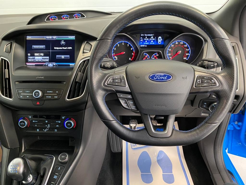2016 Ford Focus RS MK3 Just 28,000 Miles, Lux Pack, Shell Seats SOLD (picture 8 of 12)