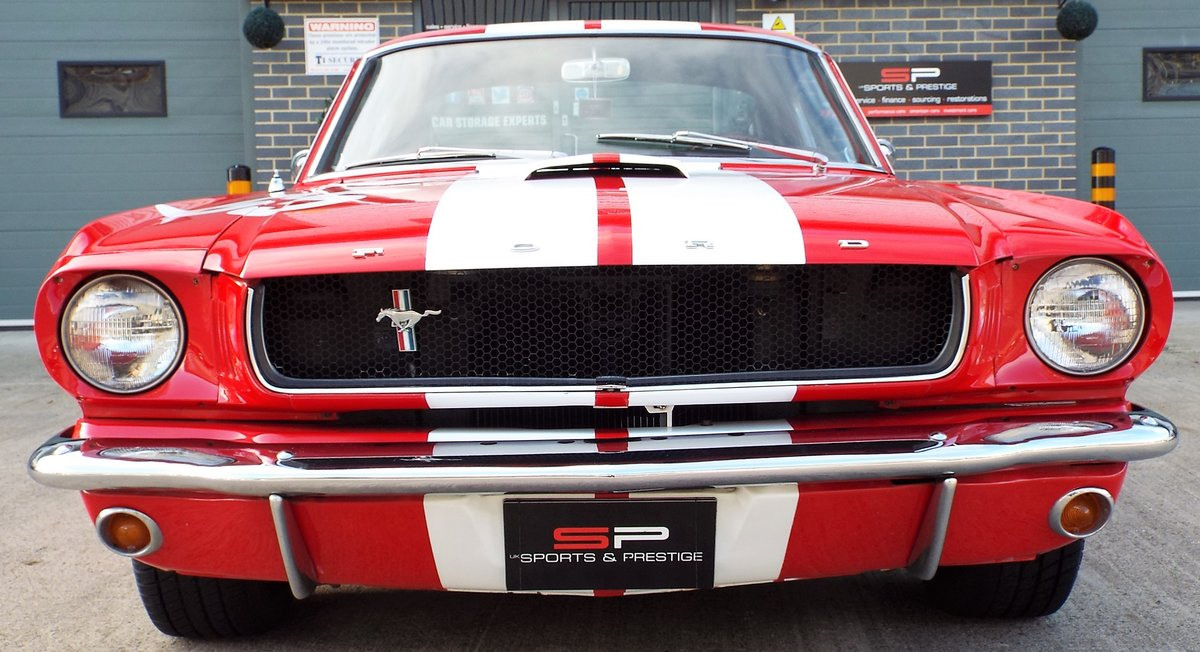 1965 Ford Mustang 4.7 V8 289 Manual Shelby GT350 Fastback For Sale (picture 7 of 12)