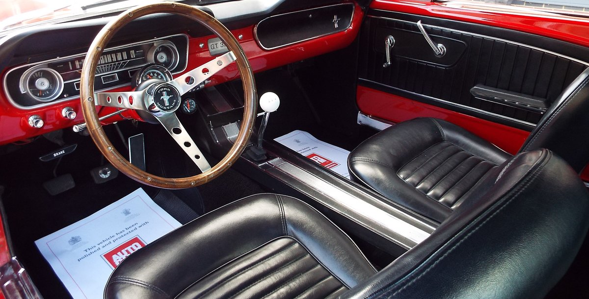 1965 Ford Mustang 4.7 V8 289 Manual Shelby GT350 Fastback For Sale (picture 9 of 12)